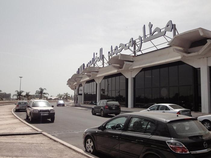 Zdjęcie lotniska w Casablance w Maroku