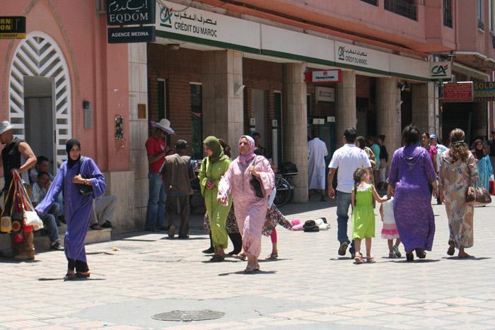 Kobiecy ubiór Marrakesz