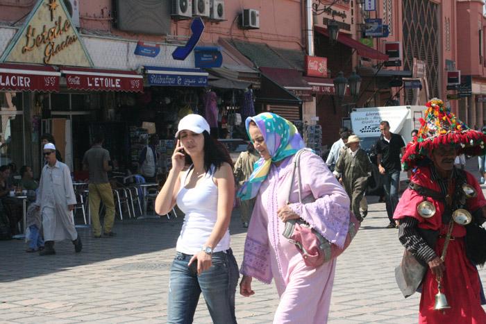Kobiety ubiór Marrakesz
