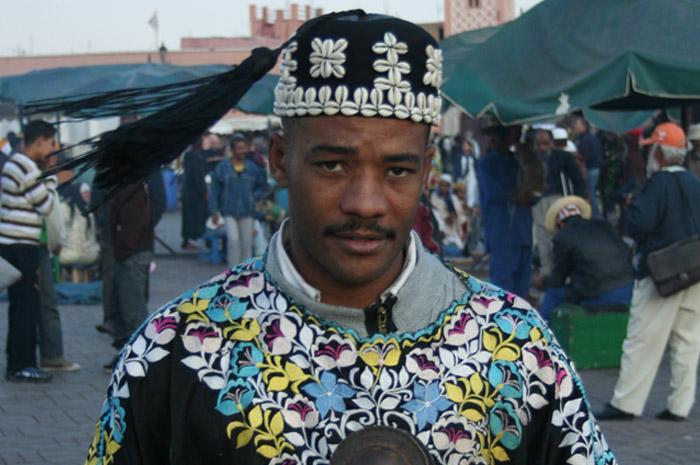 Zdjęcie Muzyka Gnawa w Marrakeszu