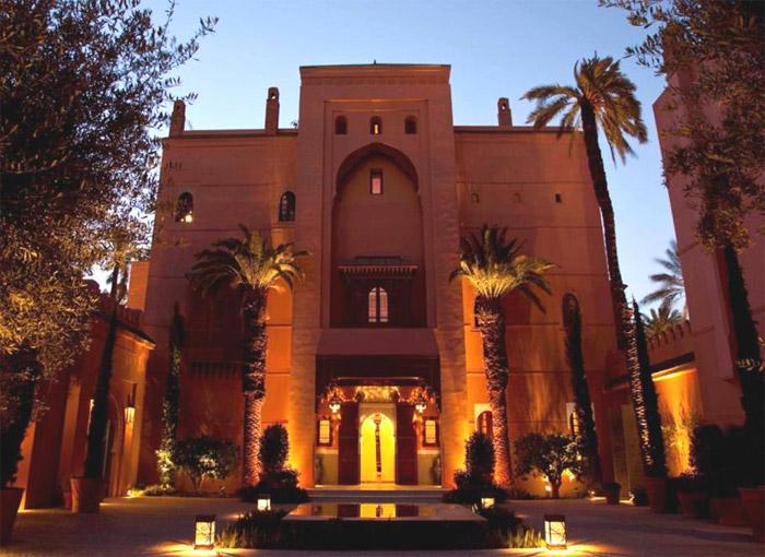 Zdjęcie hotelu Royal Mansour w Marrakeszu