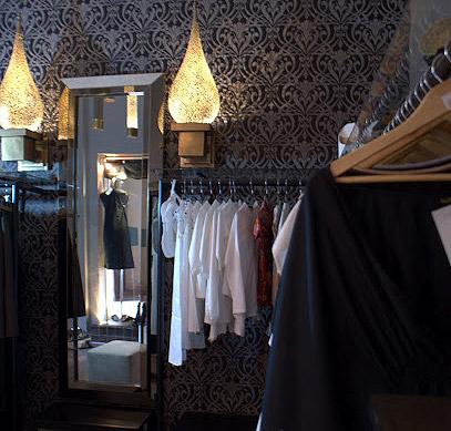 Zdjęcie wnętrza sklepu Kaftan Queen w Marrakeszu