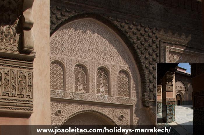 Architektura Marinidów w Marrakeszu