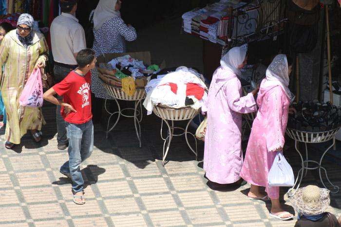 Marokańskie kobiety w Marrakeszu