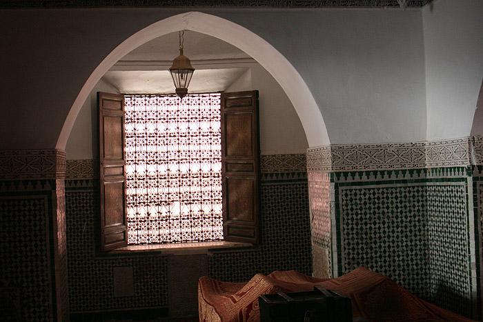 Zdjęcie Zaouia mauzoleum św Qadi Iyad w Marrakeszu