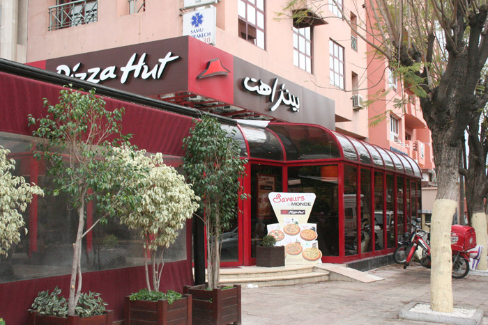 Pizza Hut w Marrakeszu