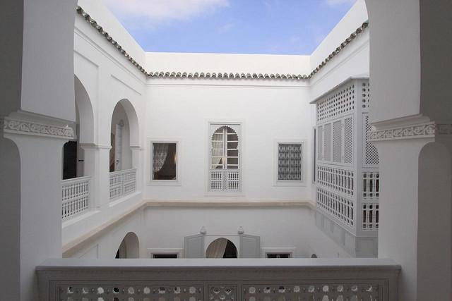 Zdjęcie patio Riad Chi Chi w Marrakeszu