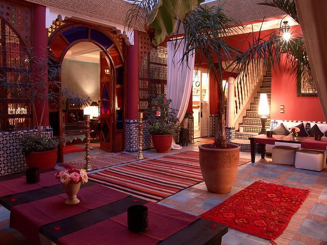 Zdjęcie patio Riad Eden w Marrakeszu