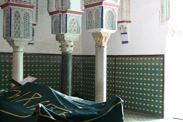 Zdjęcie Zaouia mauzoleum św Sidi Youssef Ben Ali w Marrakeszu
