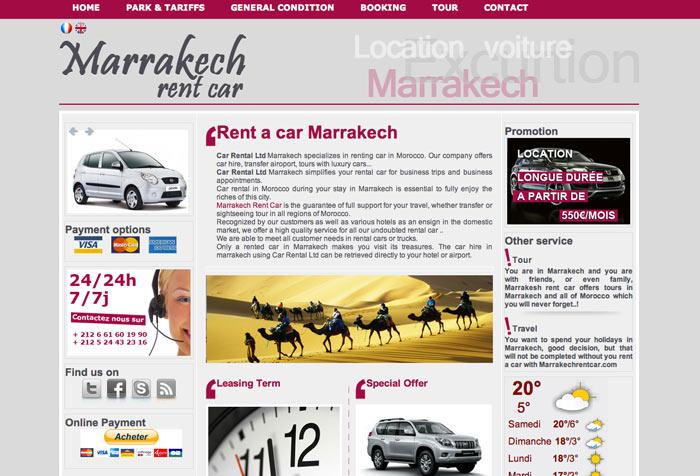 Wypożyczalnia Samochodów Marrakesz